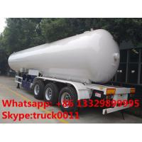 Quality 2017s New design 59.5cubic meters bulk lpg gas semitrailer for sale, factory sale bottom price 59.5m3 lpg tank trailer for sale