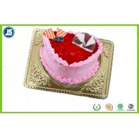 Quality Disposable Plastic Packaging , Plastic Biscuit Tray For Birthday Cakes for sale