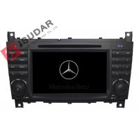 Quality C Class W203 Mercedes Benz Car DVD Player Support Google Maps Online Navigating for sale