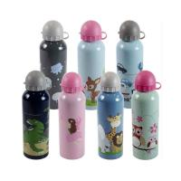 China Lovely Animals Water Bottle Aluminum alloy With Handle Outdoor Sports Portable bottle on sale
