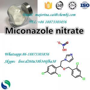 China Miconazole Nitrate /Antifungal Raw Material Powder 22832-87-7 on sale