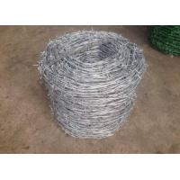 Quality Single Twisted Galvanized High Tensile Barbed Wire Security For Industry for sale