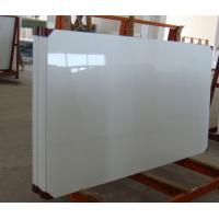 China Polished Nano Glass Tile Shower Walls With Artificial Stone Straight Edge Finished on sale