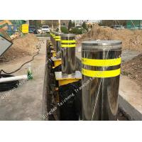 Quality Remote Control Hydraulic Retractable Bollards Traffic Surface Mount For Car Parking for sale