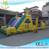 Quality Hansel unique playground equipment,obstacle sport game indoor and outdoor for sale