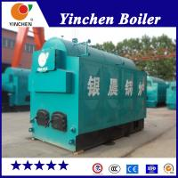 Quality Textile Industry Fire And Water Tube Boiler / Coal Wood Pellet Fired Steam Boiler for sale