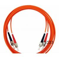Quality ST-ST Fiber Optic Patch Cord / Fiber Optics Communication For Video for sale