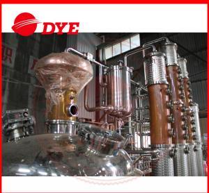 Quality 500L Copper Distiller Apparatus , Industrial Alcohol Distillation Equipment for sale