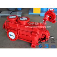 Quality Firefighting Electric Motor Driven Pump 750GPM@90m Ductile Cast Iron Materials for sale