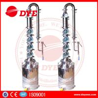 Quality Vodka Gin Whiskey Distillery Alcohol Distilling Equipment Customized for sale