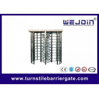 China Office / Hospital Full Height Turnstile Barrier Gate For Access Control on sale
