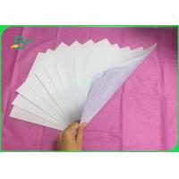 Quality Woodfree paper in 70GSM Uncoated White Paper 80GSM for Notebook for sale