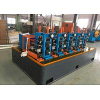Quality High Speed ERW Ms Pipe Forming Machinery , tube mill equipmentAutomatic PLC Control for sale