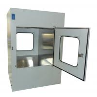 Quality Microelectronics Clean Room Air Shower Pass Box External Size 950X1100X1300mm for sale