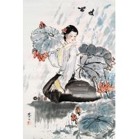 Quality character dragon painting China art painting for sale