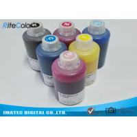 Quality DX-7 Printer Head Dye Sublimation Heat Transfer Ink For T Shirt Printing 1.1kgs Per Bottle for sale