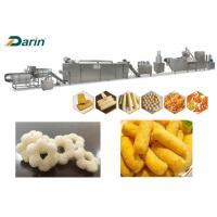 Quality Stainless Steel Puff Snack Extruder Food Corn Puff Snacks Making Line for sale