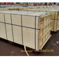 China Brown marine plywood marine board black film faced plywood to africa market on sale