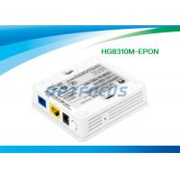 Quality Single GE Ethernet Port Gpon Epon ONU Optical Line Terminal Equipment HG8310M White Color for sale