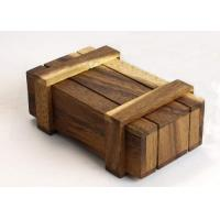 Buy Natural Style Custom Wood Serving Tray , Rectangular Serving Tray With Lid at wholesale prices