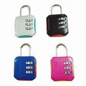Quality 4-digit Combination Padlocks, Measures 81x43x21mm for sale