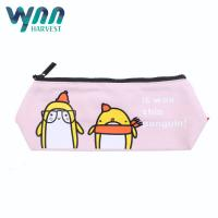 Quality Colored Portable Pencil Case For Students 12oz Canvas Fabric Custom Size for sale