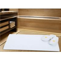 Quality White Color Modern Hotel Bath Mats For Bathroom Area Microfiber Material for sale