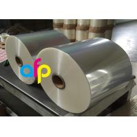 Quality Wet Glossy Flexible Packaging Film 12 Micron Corona Treated 3000 - 9000m Length for sale