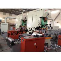 Buy Automatic Feeding / Punching Aluminum Foil Container Production Line PLC at wholesale prices