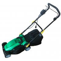 Quality Green Color Electric Start Lawn Mower Mechinary Brack Belt Drive High Efficiency for sale