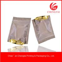 Quality General use Resealable Stand Up Packaging Bags / Pouches One side transparent for sale