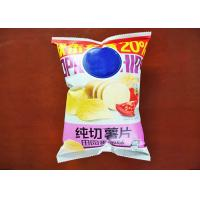 Quality Custom Printed Potato Chip Plastic Bags With Own Logo Zipper Packaging Bag for sale