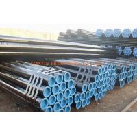 Quality Q345, Q295 Seamless Steel Tubing, Black Painted Hot Rolled Seamless Pipe for sale