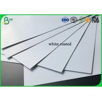 Quality Good Stiffness 600g 800g 900g Large Size Two Sides Coated White Duplex Board for sale
