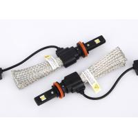 Buy IP67 Motorcycle LED Headlight Bulb Long Lighting Distance With HEAT Dissipation Belt at wholesale prices