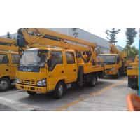 Quality Three telescopic arms can expand Boom Lift Truck Lifting Capacity 5000 XZJ5110JGK for sale