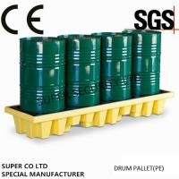 Buy Polyethylene Drum Containment Pallets For Chemical , Acids Amd Corrosives Liquid Distributed Load 1100kg at wholesale prices