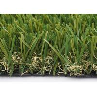 Buy cheap Customized W Shape Artificial Grass Garden 40mm 14700 Density Synthetic from wholesalers