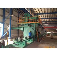 Quality Auto Steel Shot Blasting Equipment Surface Preparation Customized Colors for sale