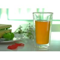 Buy Tableware Double Wall Borosilicate Glass Drinking Ware Microwave Safe at wholesale prices