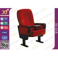 Quality Embroidery Customized Wooden Back & Seat Conference Hall Chairs With 5 Years Warranty for sale