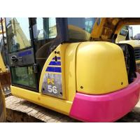 China PC56 Second Hand Komatsu Excavator 4.6km/H / 5 Tons Used Construction Equipment for sale