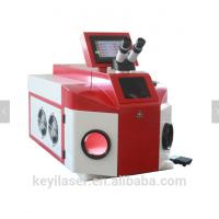 Quality Advertising Industry Jewelry Laser Welding Machine Red Color Stable Performance for sale