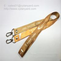 Buy Double Ends Open Lanyard with Rivet, Two Ends Dye Sub Print open Lanyards at wholesale prices