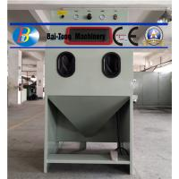 China Thermal Heating Industrial Blast Cabinet , Abrasive Blast Cabinet 72 Height on sale
