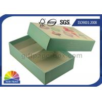 China Embossing Printed Hard Rigid Gift Boxes Packaging Cardboard Boxes With Lids on sale
