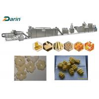 Quality Durable Puff Snack Machine , Food Corn Puff Snacks Making Line CE Passed for sale