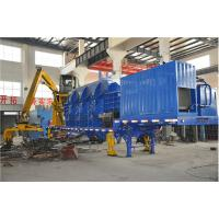 Quality High Efficient Automatical Portable Mobile Baler Machine , Steel Baling Press for sale