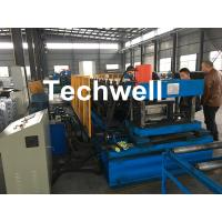 Quality Automatic PLC Control Cable Tray Roll Forming Machine With Servo Guiding Device for sale