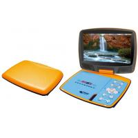 Quality Multiple Languages 9 Inch Portable DVD Player with PAL / NTSC TV for sale